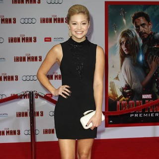Olivia Holt in Iron Man 3 Los Angeles Premiere - Arrivals