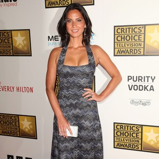 Olivia Munn in 2012 Critics' Choice TV Awards - Arrivals