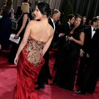 Olivia Munn in The 85th Annual Oscars - Red Carpet Arrivals