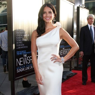 Olivia Munn in HBO's The Newsroom Los Angeles Premiere