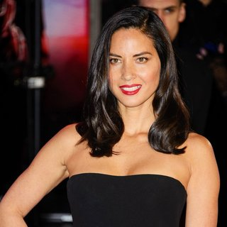 Olivia Munn in The World Premiere of RoboCop - Arrivals