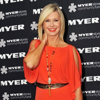 Olivia Newton-John in The Myer Precious Metal Ball in Support of The Olivia Newton-John Cancer and Wellness Centre