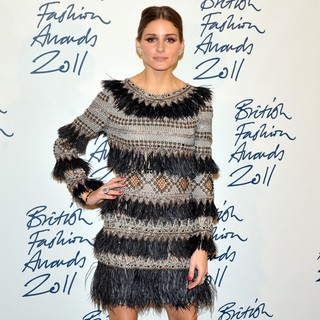 Olivia Palermo in British Fashion Awards 2011 - Press Room