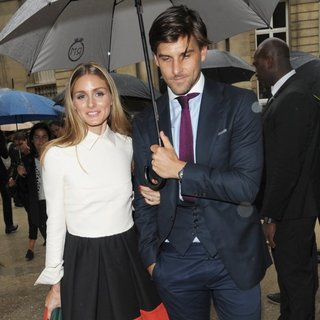 Olivia Palermo - Paris Fashion Week Haute Couture Fall-Winter 2014-2015 - Valentino - Outside Arrivals