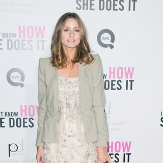 Olivia Palermo in New York Premiere of I Don't Know How She Does It - Arrivals
