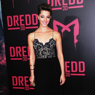 Olivia Thirlby in Dredd New York Screening