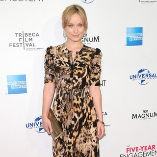 Olivia Wilde in 2012 Tribeca Film Festival Opening Night - The Five-Year Engagement - Arrivals