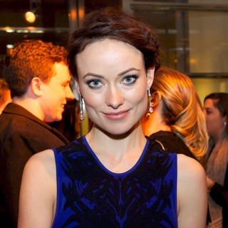 Olivia Wilde in Mercedes-Benz New York Fashion Week Autumn-Winter 2013 - Bulgari Celebrates Icons of Style