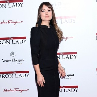 Olivia Wilde in The New York Premiere of The Iron Lady