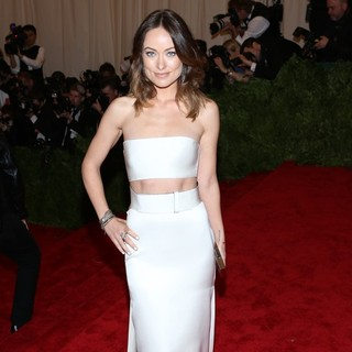 Olivia Wilde in PUNK: Chaos to Couture Costume Institute Gala