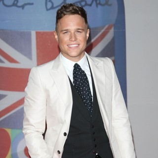 Olly Murs in The BRIT Awards 2012 - Arrivals