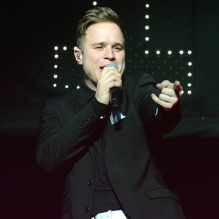 Olly Murs in Olly Murs Performs