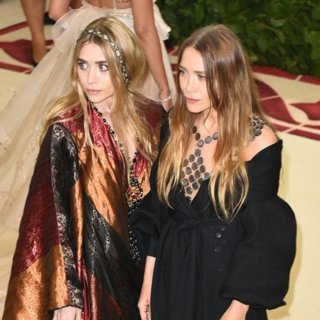 Ashley Olsen, Mary-Kate Olsen in The 2018 Costume Institute's MET Gala Benefit - Red Carpet Arrivals