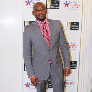 Omar Epps in The Creative Coalition's Salute to Blue Star Families