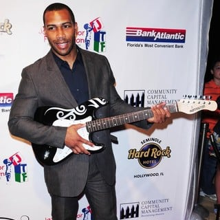 Omari Hardwick in Jason Taylor Celebrity Golf Classic Kick Off Party