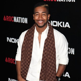 Omarion in Roc Nation Pre-Grammy Brunch