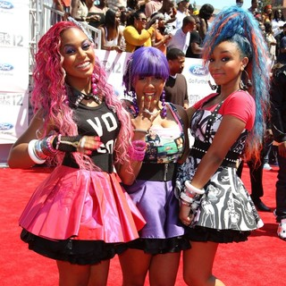 OMG Girlz in The BET Awards 2012 - Arrivals