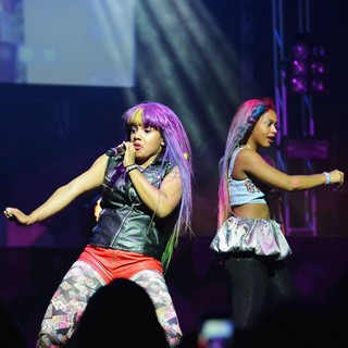Zonnique Pullins, Breaunna Womack, OMG Girlz in OMG Girlz Perform Scream Tour with The Next Generation Pt. 2