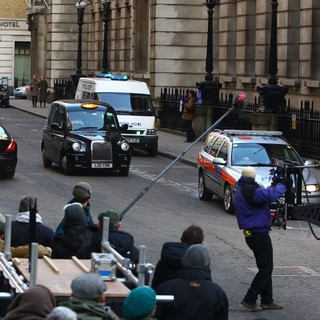On The Set of The New James Bond Film Skyfall
