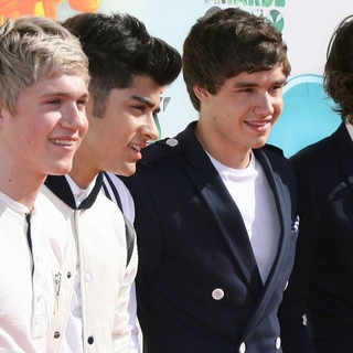 Niall Horan, Zayn Malik, Liam Payne, Harry Styles, One Direction in 2012 Kids' Choice Awards - Arrivals
