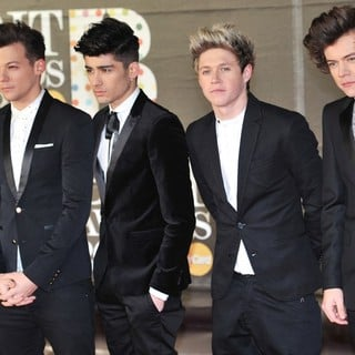 One Direction in The 2013 Brit Awards - Arrivals