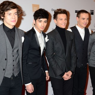 One Direction in Bambi Awards 2012