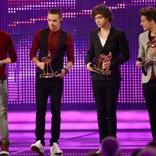 Niall Horan, Liam Payne, Harry Styles, Louis Tomlinson, One Direction in Bambi Awards 2012