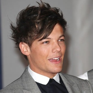 Louis Tomlinson, One Direction in The BRIT Awards 2012 - Arrivals