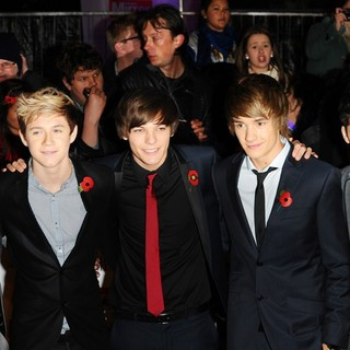One Direction - Pride of Britain Awards - Arrivals