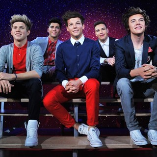 Wax Figures of One Direction Revealed
