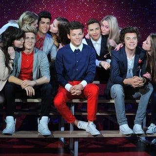 One Direction in Wax Figures of One Direction Revealed