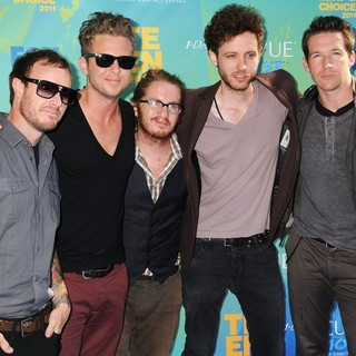 OneRepublic in 2011 Teen Choice Awards