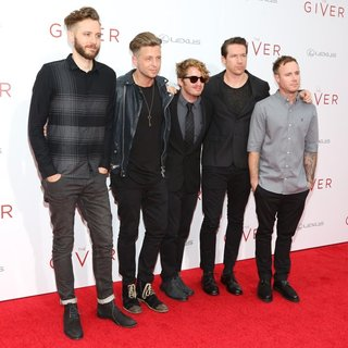 OneRepublic - Premiere Screening The Giver