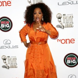 Oprah Winfrey in 45th NAACP Image Awards - Arrivals