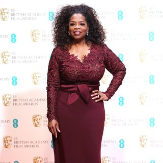 Oprah Winfrey - EE British Academy Film Awards 2014 - Press Room