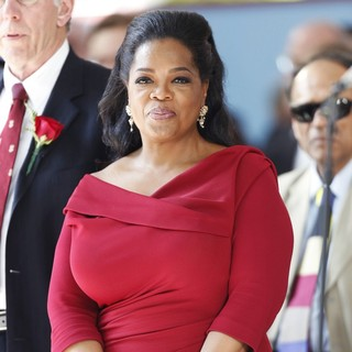 Oprah Winfrey Delivers The Commencement Speech at Harvard University's 362nd Graduation Ceremony