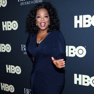 Oprah Winfrey in Beyonce: Life Is But a Dream New York Premiere