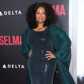 Oprah Winfrey in New York Premiere of Selma - Red Carpet Arrivals