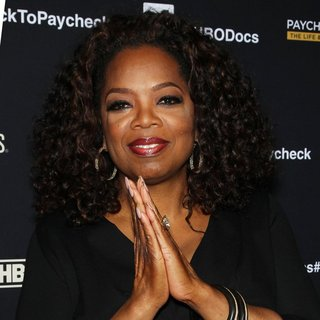 Oprah Winfrey - Screening of HBO Documentary Film Paycheck to Paycheck: The Life and Times of Katrina Gilbert
