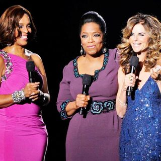 Gayle King, Oprah Winfrey, Maria Shriver in Gayle King, Oprah Winfrey and Maria Shriver During Surprise Oprah A Farewell Spectacular