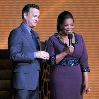 Oprah Winfrey and Tom Hanks Surprise Oprah A Farewell Spectacular