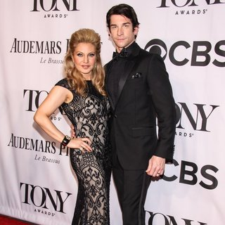 Orfeh, Andy Karl in The 68th Annual Tony Awards - Arrivals