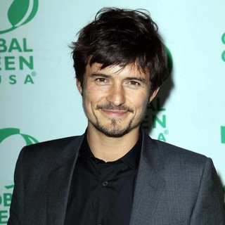 Orlando Bloom in Global Green USA's Pre-Oscar Party - Arrivals