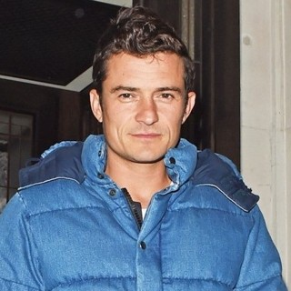 Orlando Bloom-Orlando Bloom Leaving 34 Restaurant