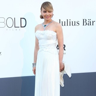 Ornella Muti in 66th Cannes Film Festival - amfAR's 20th Annual Cinema Against AIDS - Arrivals