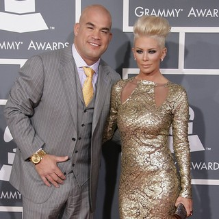 Jenna Jameson in 55th Annual GRAMMY Awards - Arrivals - ortiz-jameson-55th-annual-grammy-awards-02