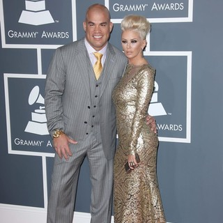 Jenna Jameson in 55th Annual GRAMMY Awards - Arrivals - ortiz-jameson-55th-annual-grammy-awards-03