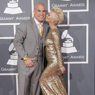 Tito Ortiz, Jenna Jameson in 55th Annual GRAMMY Awards - Arrivals