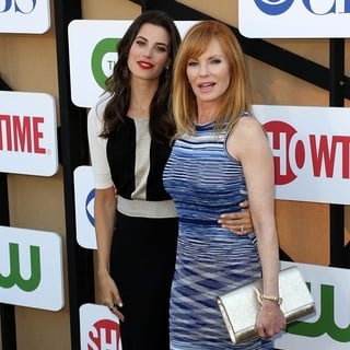 Meghan Ory, Marg Helgenberger in CW, CBS and Showtime 2013 Summer TCA Party - Arrivals