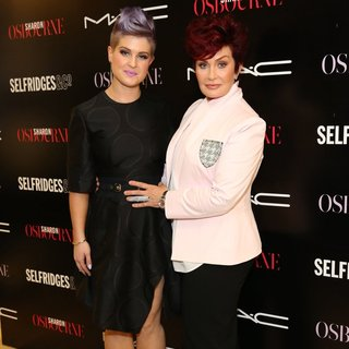 Kelly Osbourne, Sharon Osbourne in MAC Launch